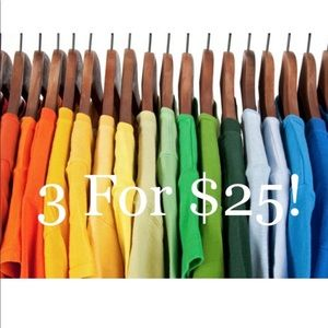 3 for $25 special!!!!